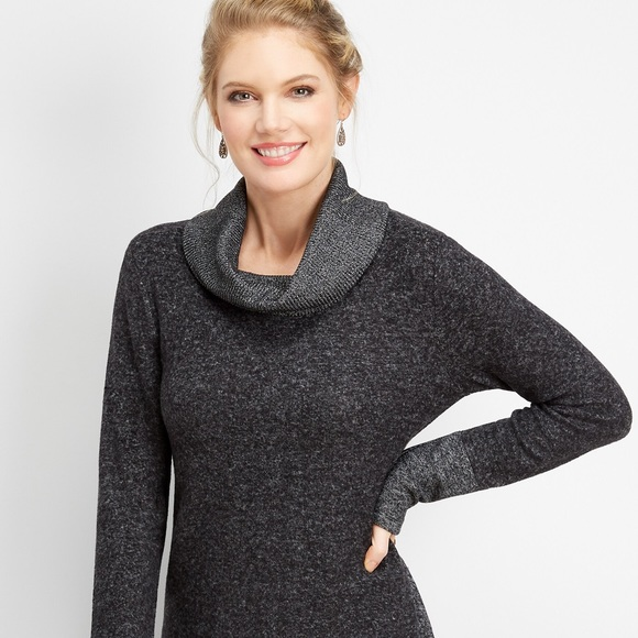Maurices Sweaters - Gray cowl neck pull over🌻